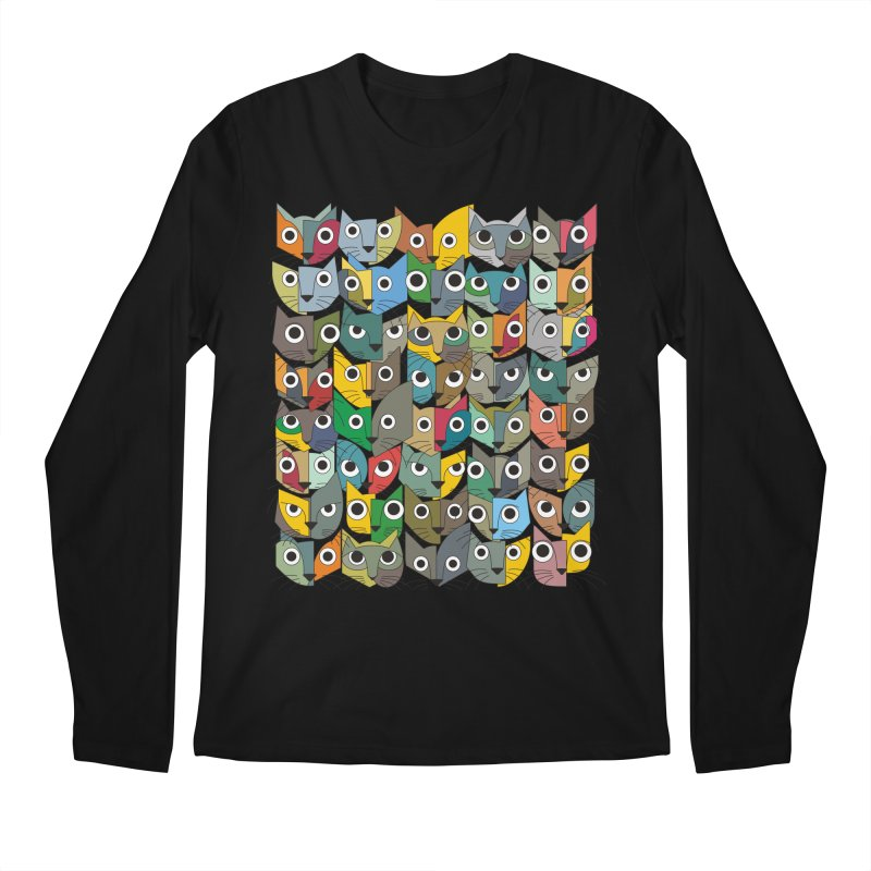 Cats (Forty Pack Version) Men's Regular Longsleeve T-Shirt by bulo