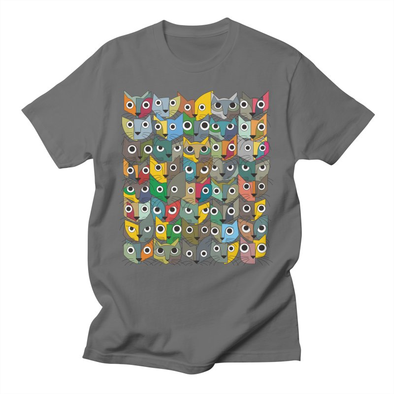 Cats (Forty Pack Version) Men's T-Shirt by bulo