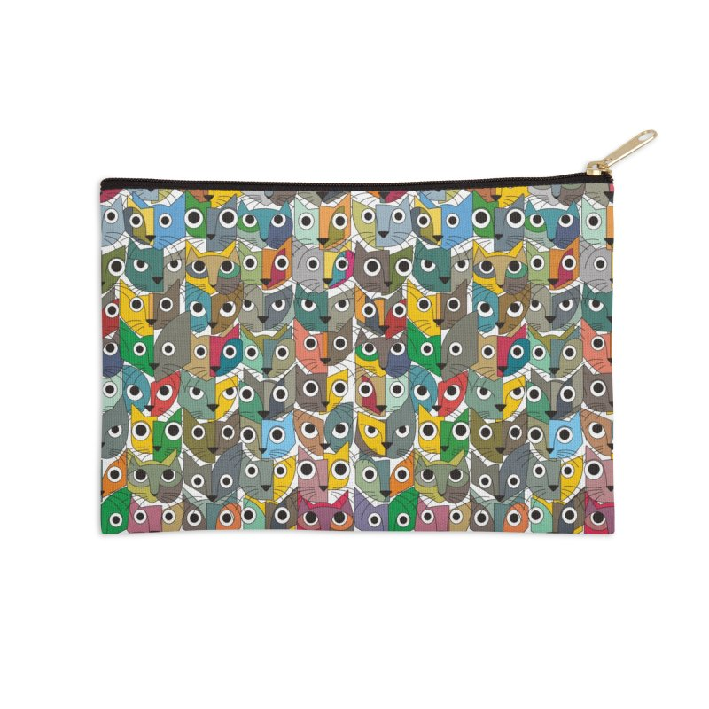 Cats (Forty Pack Version) Accessories Zip Pouch by bulo