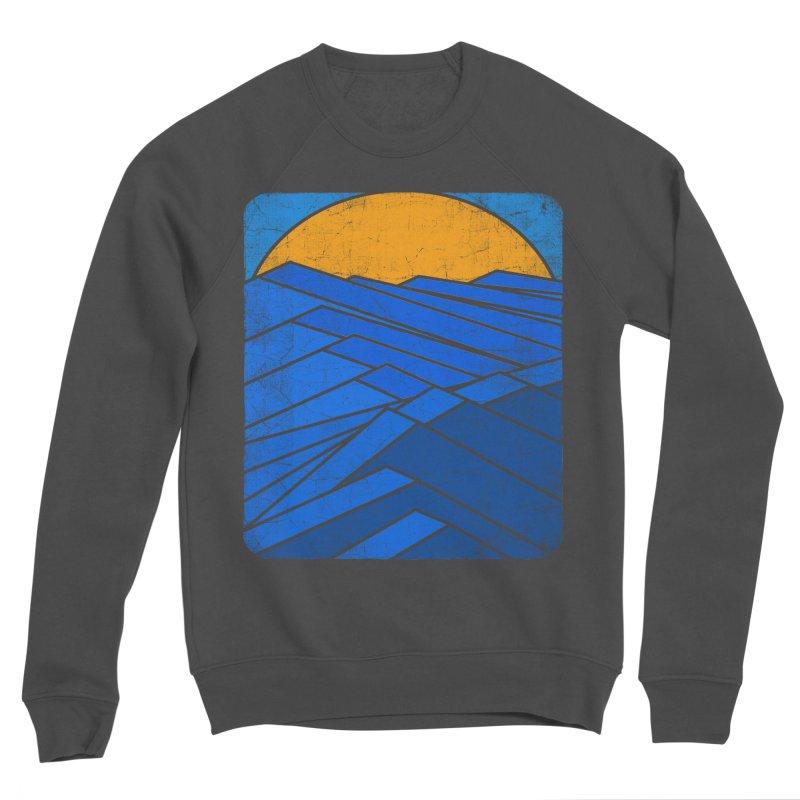 Sunrise with waves Women's Sponge Fleece Sweatshirt by bulo
