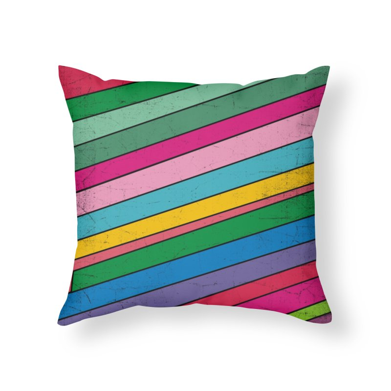 Mood Home Throw Pillow by bulo