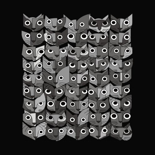 Design for Cats (fortyfivepack bw version)