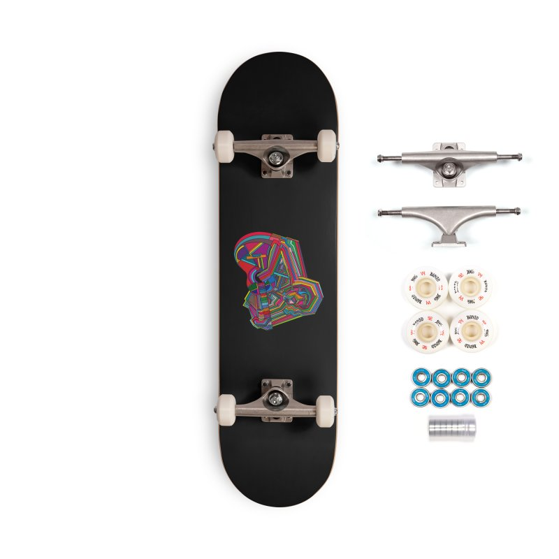 Guitarist Accessories Complete - Premium Skateboard by bulo