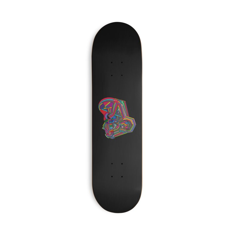 Guitarist Accessories Deck Only Skateboard by bulo