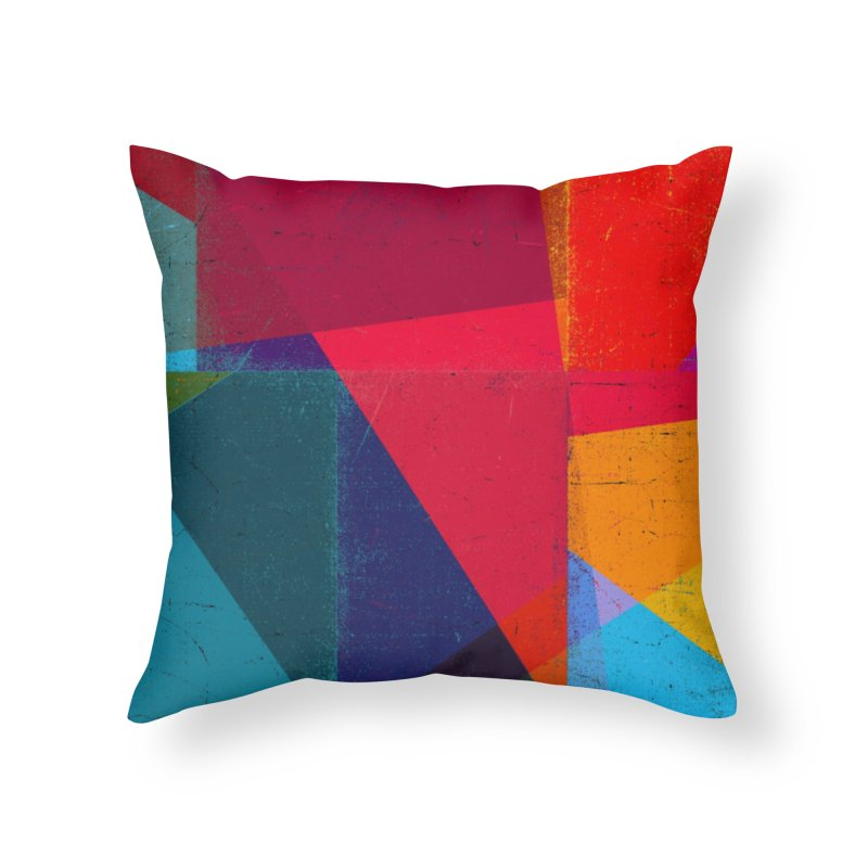 Intersection Home Throw Pillow by bulo