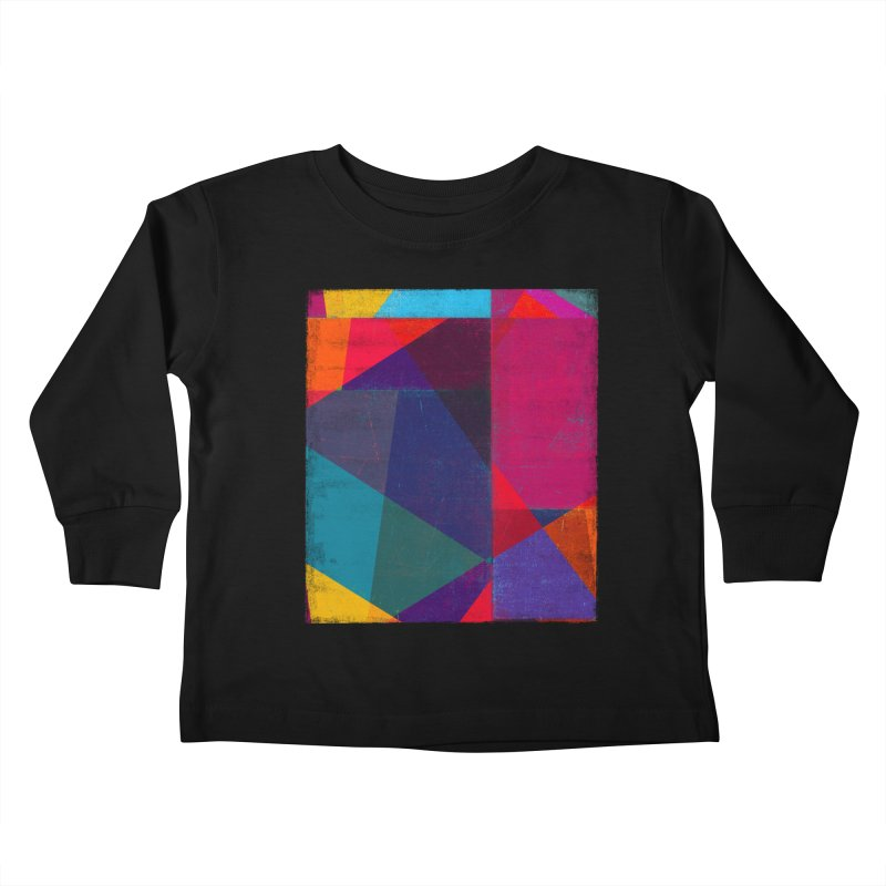 Intersection Kids Toddler Longsleeve T-Shirt by bulo