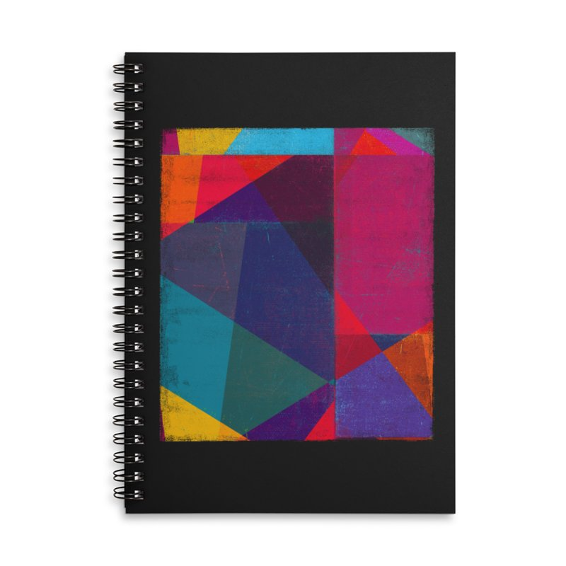 Intersection Accessories Lined Spiral Notebook by bulo