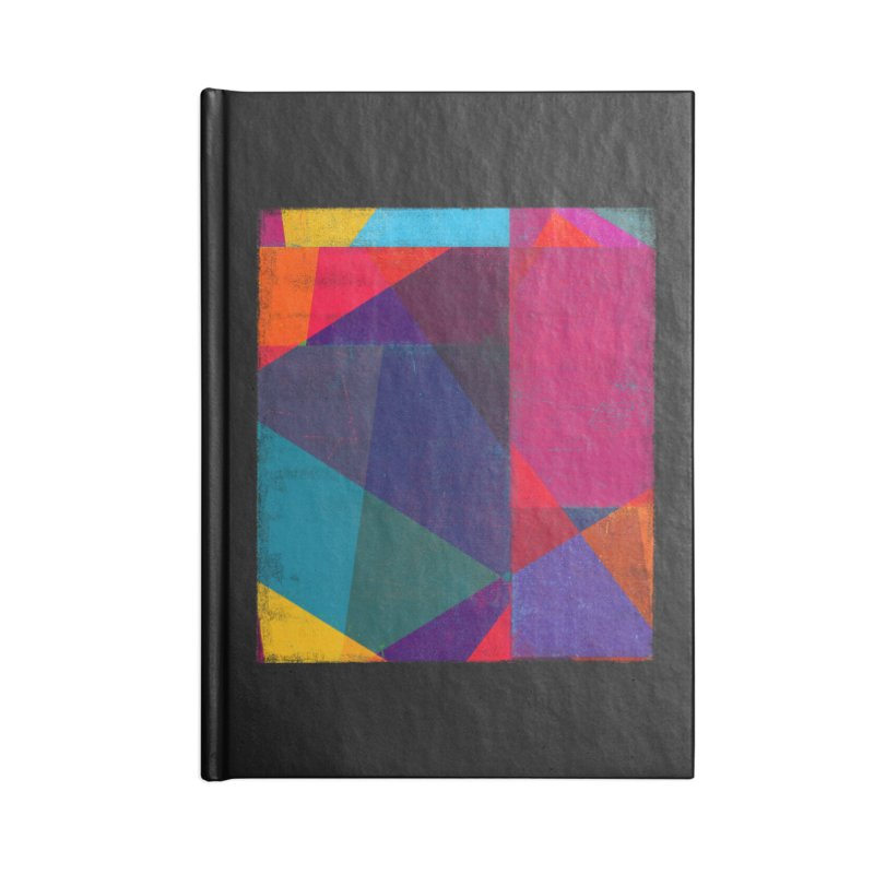 Intersection Accessories Blank Journal Notebook by bulo