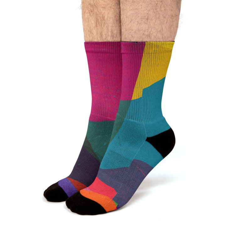 Intersection Men's Socks by bulo