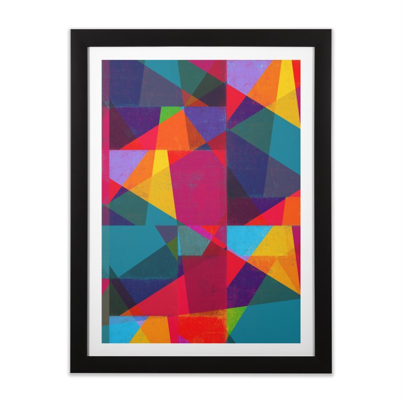 Intersection Home Framed Fine Art Print by bulo