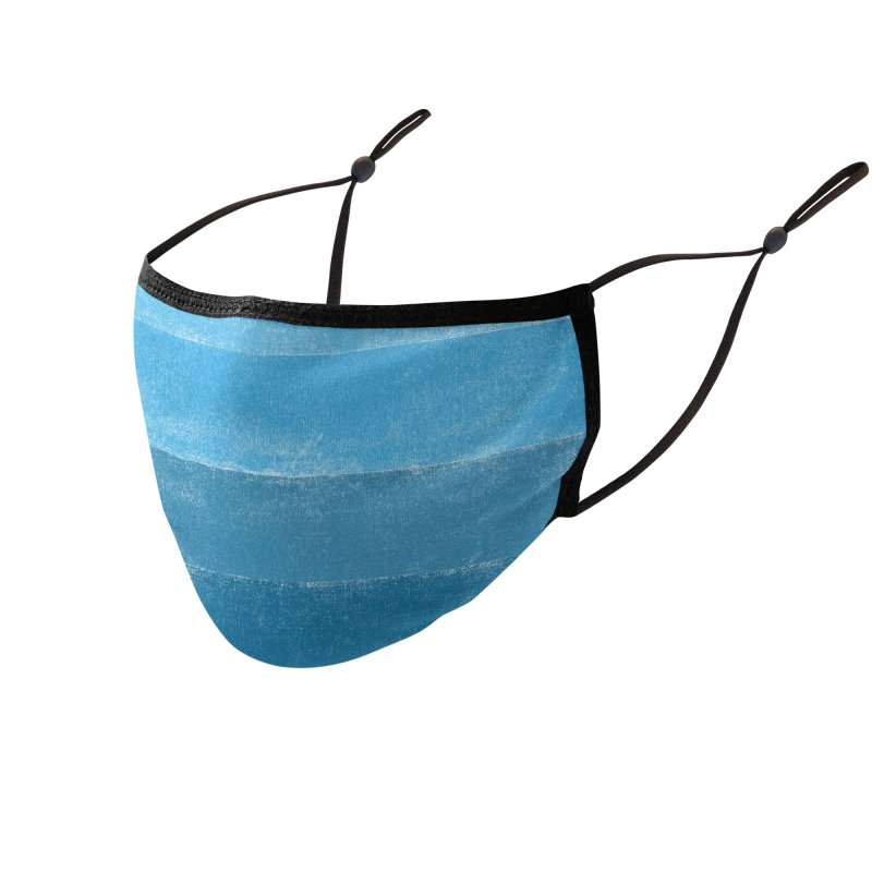 Blue Vibes Accessories Face Mask by bulo