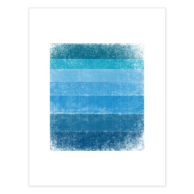 Blue Vibes Home Fine Art Print by bulo