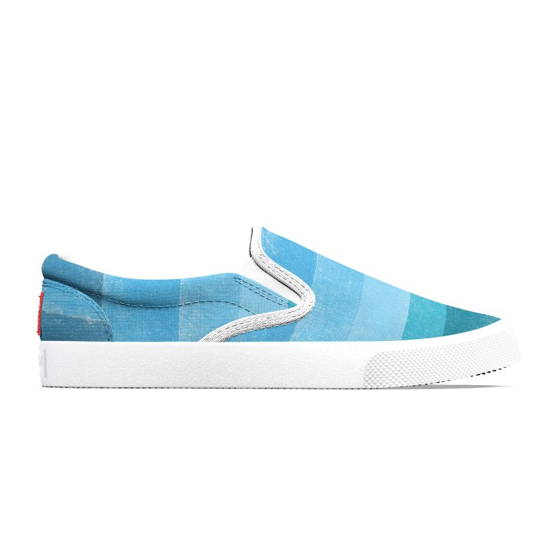 Blue Vibes Women's Shoes by bulo