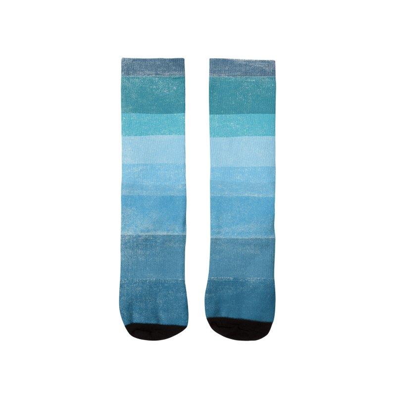Blue Vibes Men's Socks by bulo