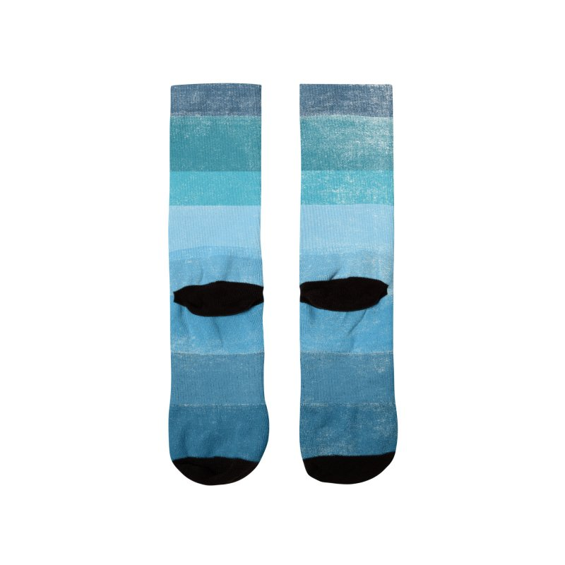 Blue Vibes Women's Socks by bulo