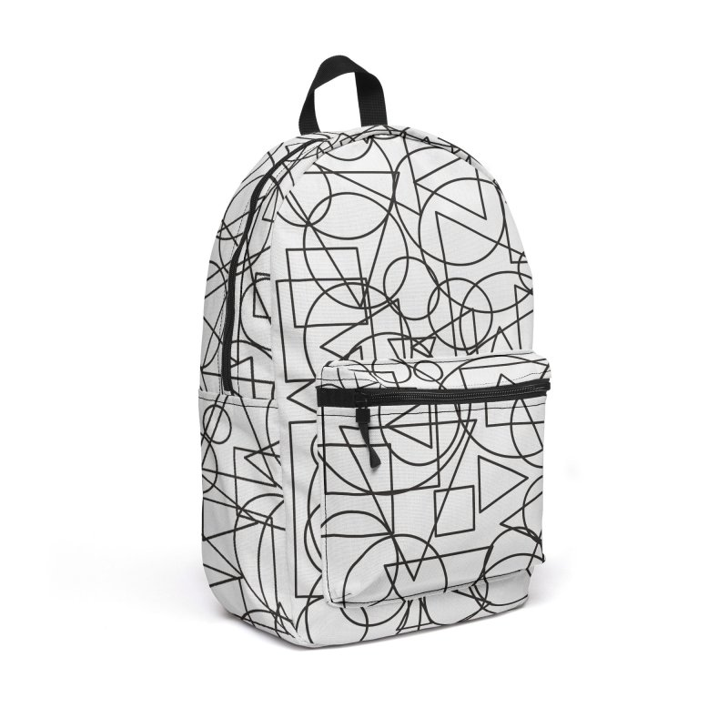 Simple Chaos Accessories Backpack Bag by bulo