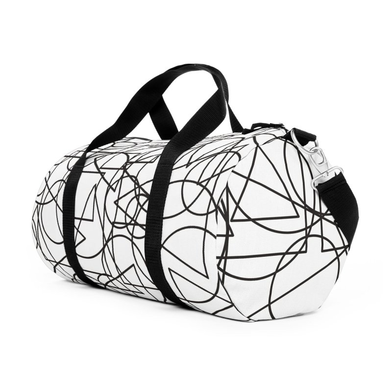 Simple Chaos Accessories Duffel Bag Bag by bulo