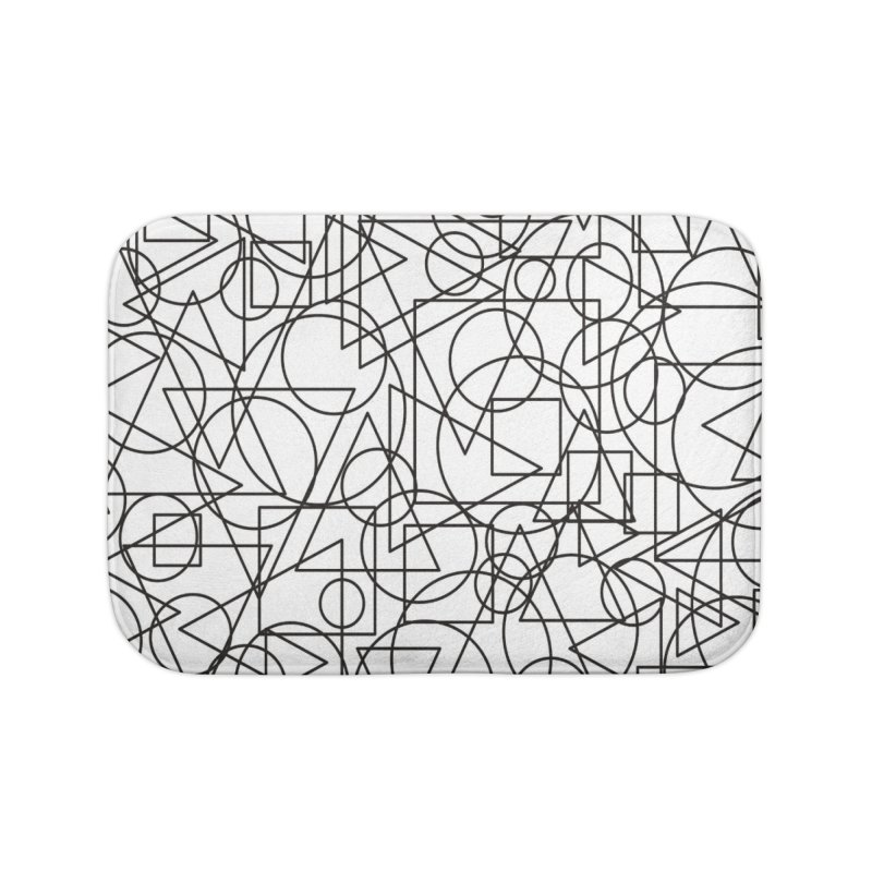 Simple Chaos Home Bath Mat by bulo