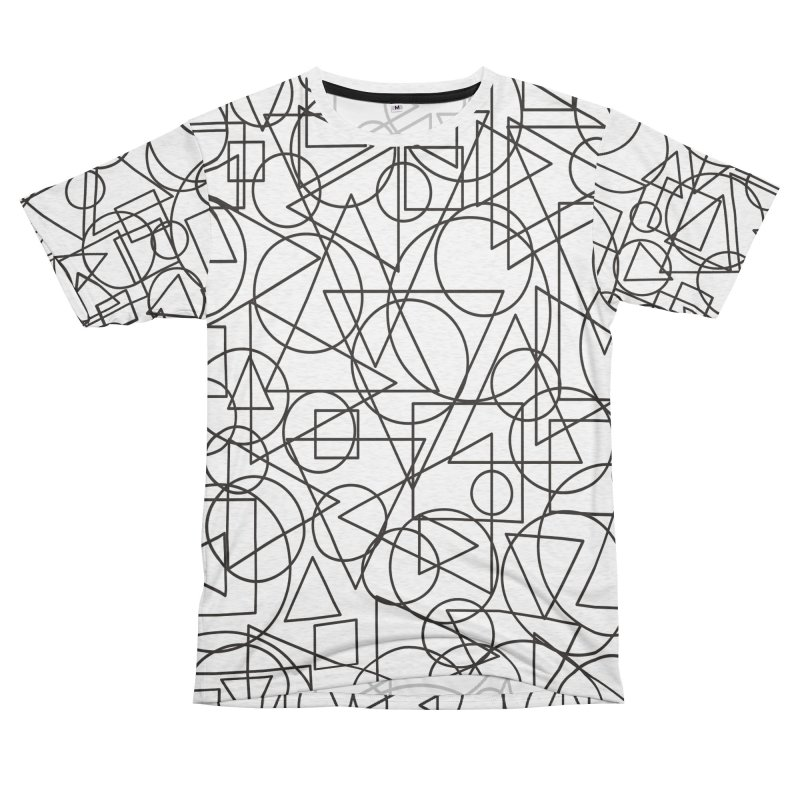 Simple Chaos Women's Unisex French Terry T-Shirt Cut & Sew by bulo