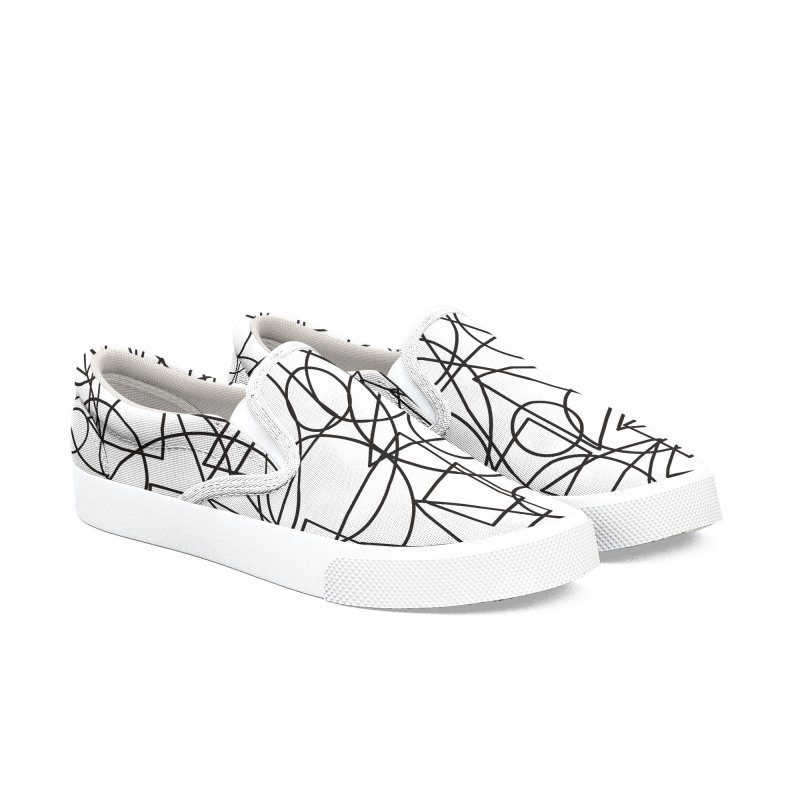 Simple Chaos Women's Slip-On Shoes by bulo
