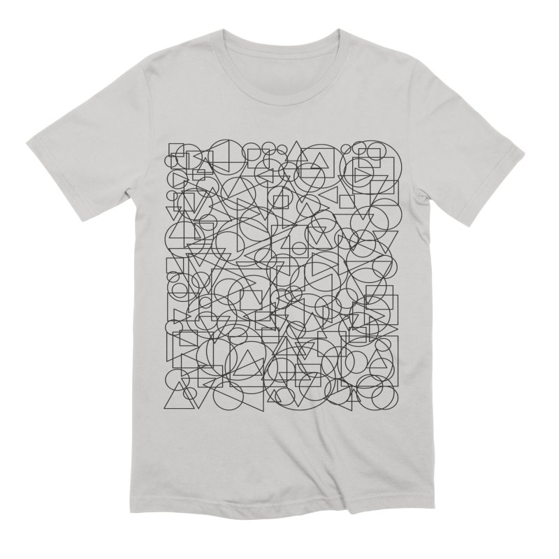 Simple Chaos Men's Extra Soft T-Shirt by bulo