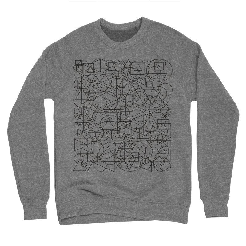 Simple Chaos Men's Sponge Fleece Sweatshirt by bulo