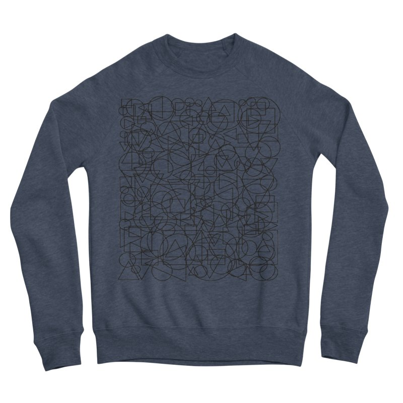 Simple Chaos Women's Sponge Fleece Sweatshirt by bulo
