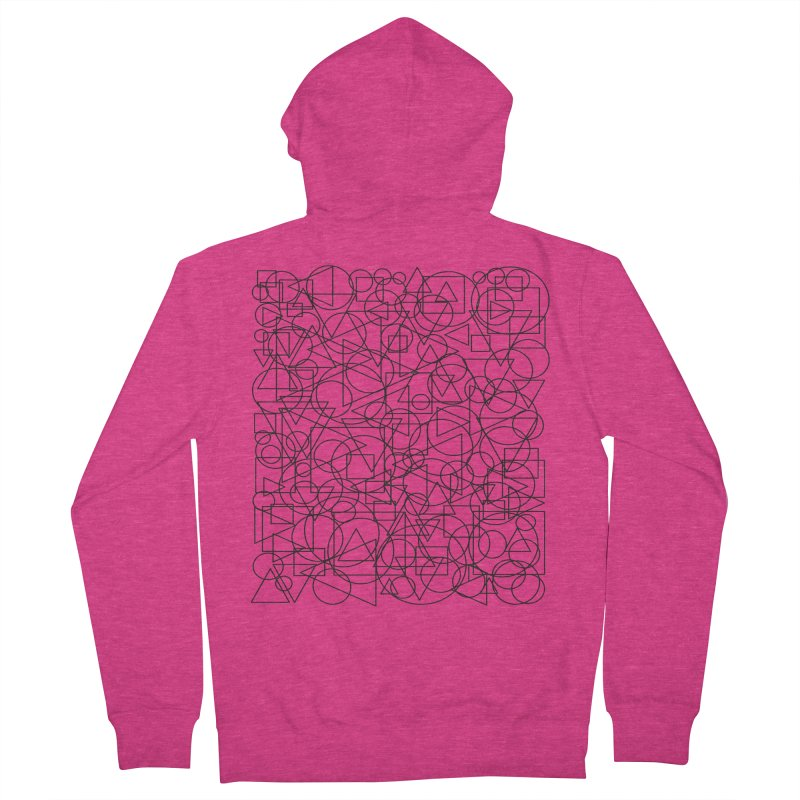 Simple Chaos Women's French Terry Zip-Up Hoody by bulo