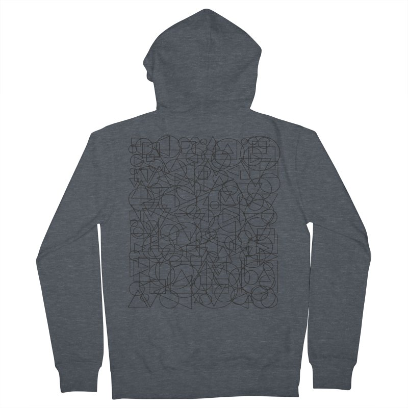 Simple Chaos Men's French Terry Zip-Up Hoody by bulo