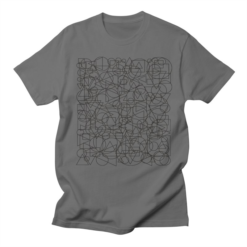 Simple Chaos Men's Regular T-Shirt by bulo