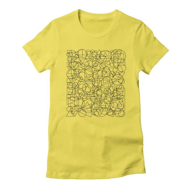 Simple Chaos Women's T-Shirt by bulo