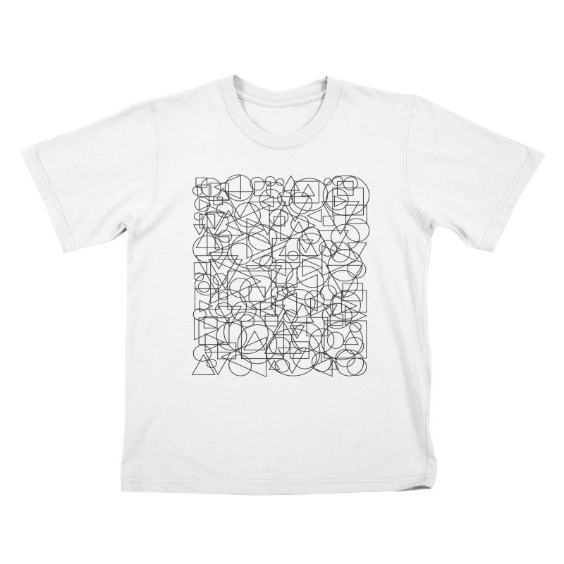 Simple Chaos Kids T-Shirt by bulo