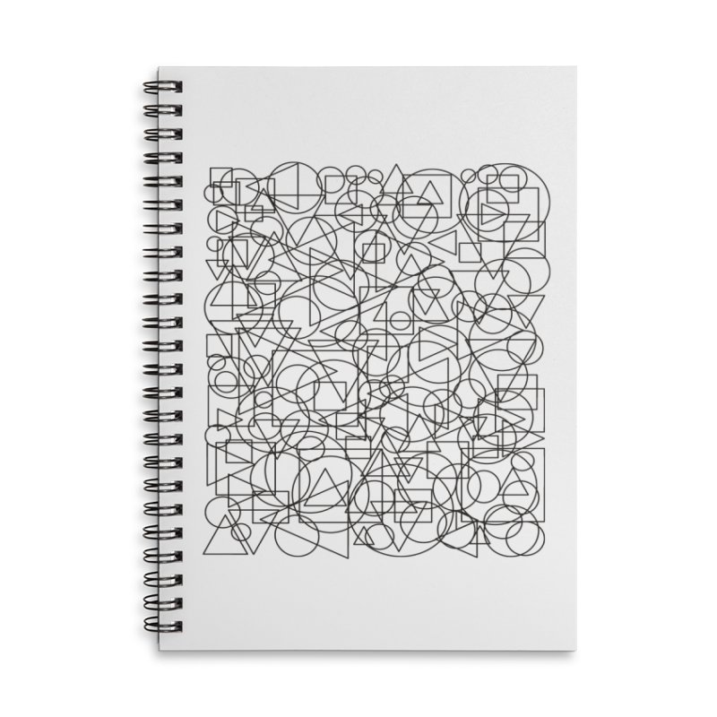 Simple Chaos Accessories Lined Spiral Notebook by bulo