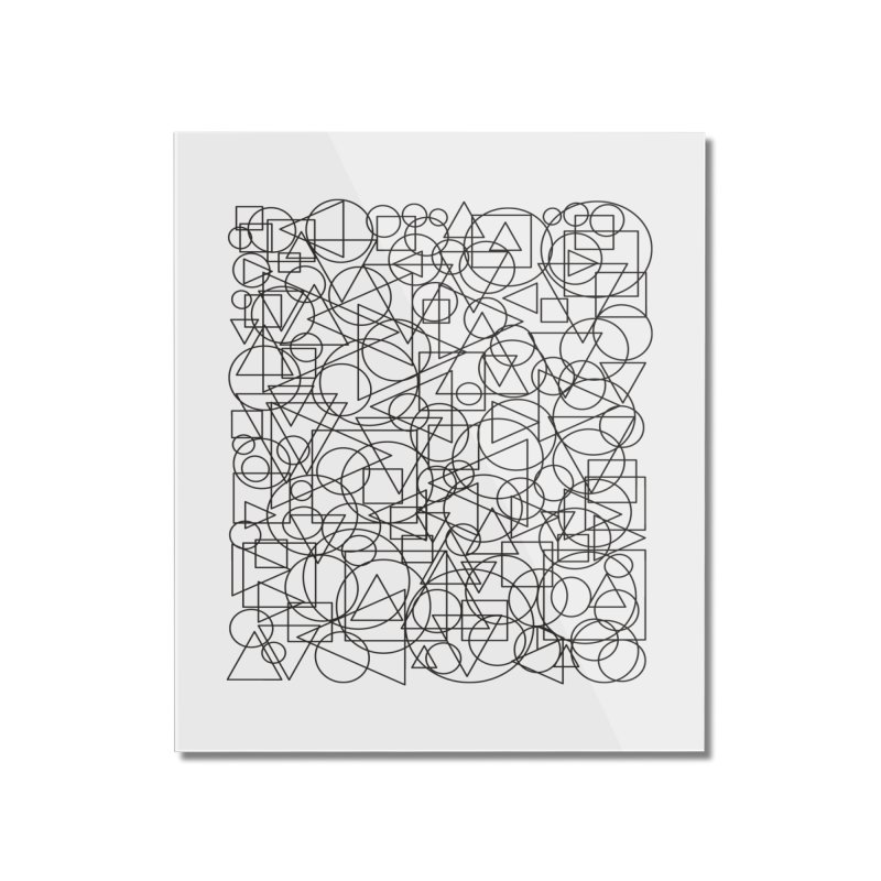 Simple Chaos Home Mounted Acrylic Print by bulo