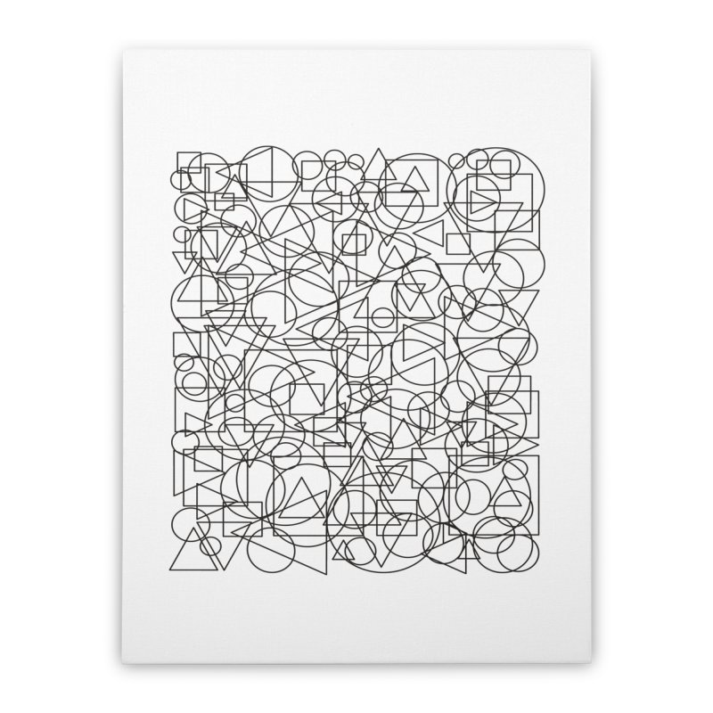 Simple Chaos Home Stretched Canvas by bulo