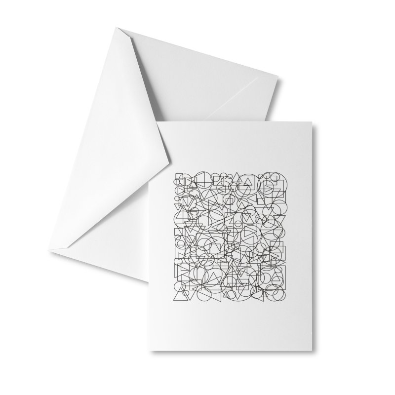 Simple Chaos Accessories Greeting Card by bulo
