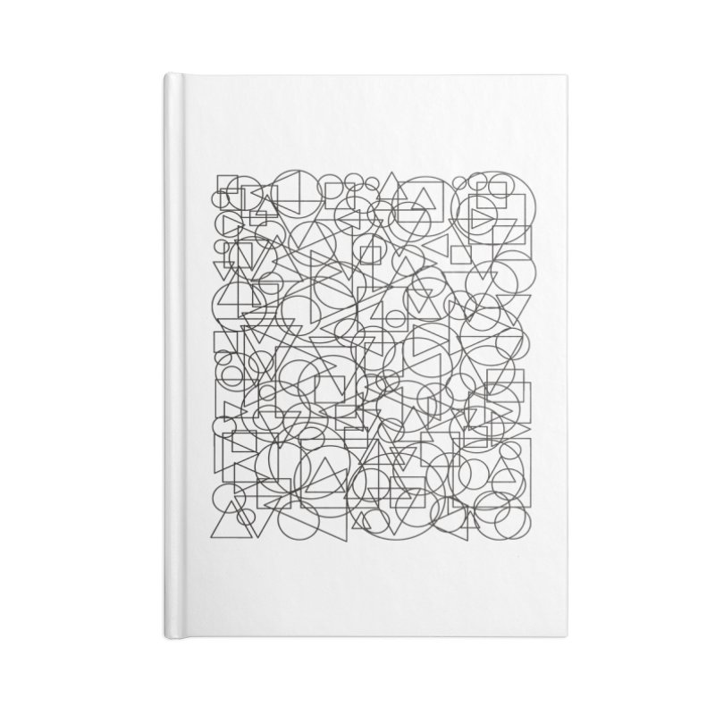 Simple Chaos Accessories Blank Journal Notebook by bulo