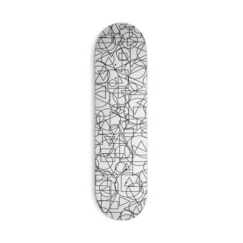 Simple Chaos Accessories Deck Only Skateboard by bulo