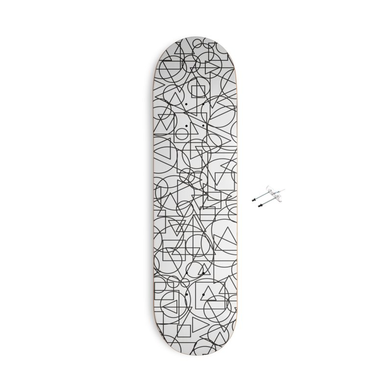 Simple Chaos Accessories Skateboard by bulo