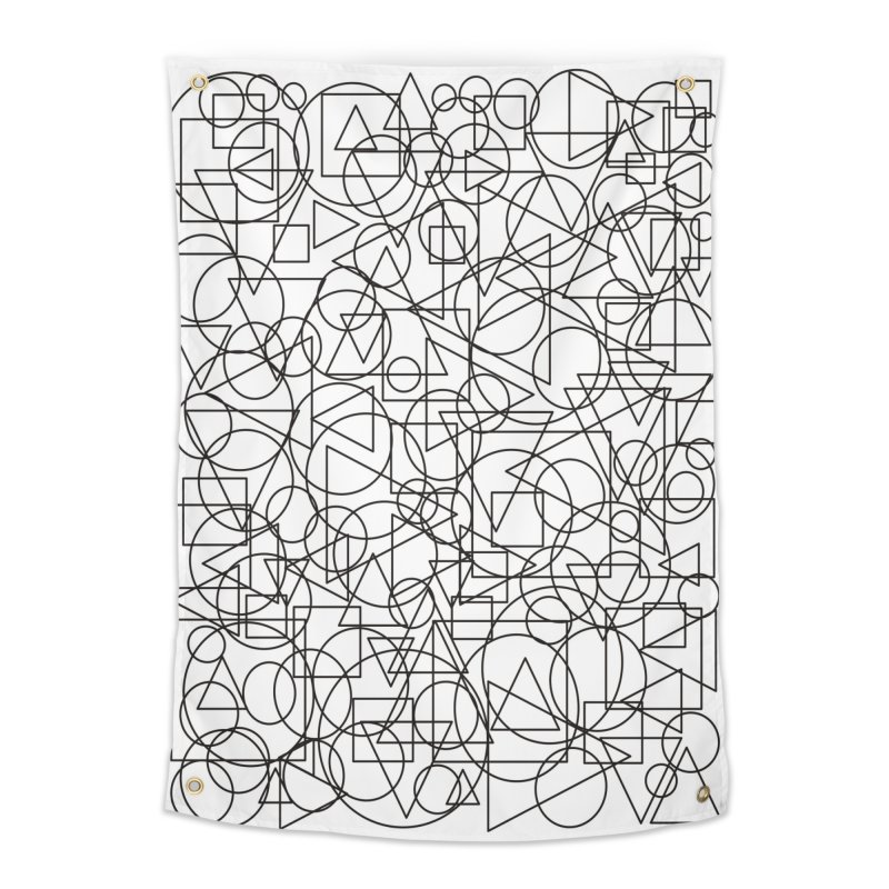 Simple Chaos Home Tapestry by bulo