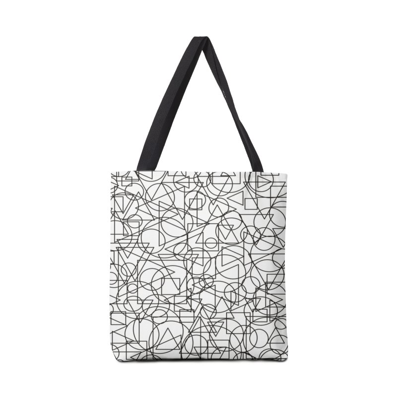 Simple Chaos Accessories Tote Bag Bag by bulo