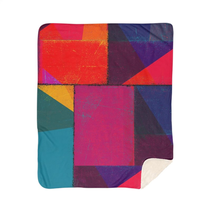 Intersections Home Sherpa Blanket Blanket by bulo