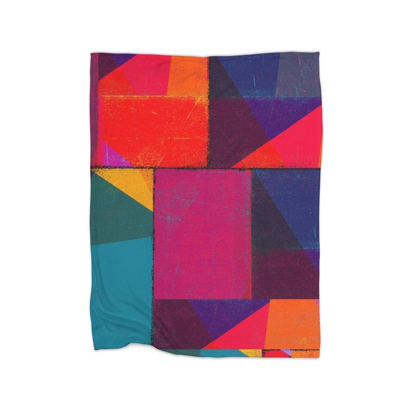 Intersections Home Fleece Blanket Blanket by bulo