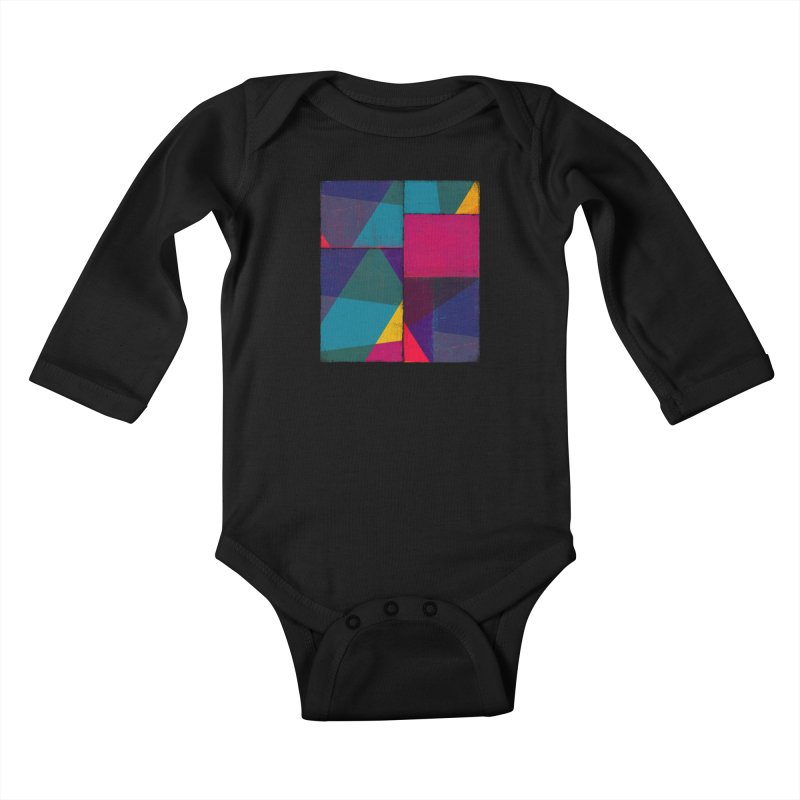Intersections Kids Baby Longsleeve Bodysuit by bulo