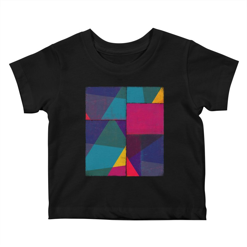 Intersections Kids Baby T-Shirt by bulo