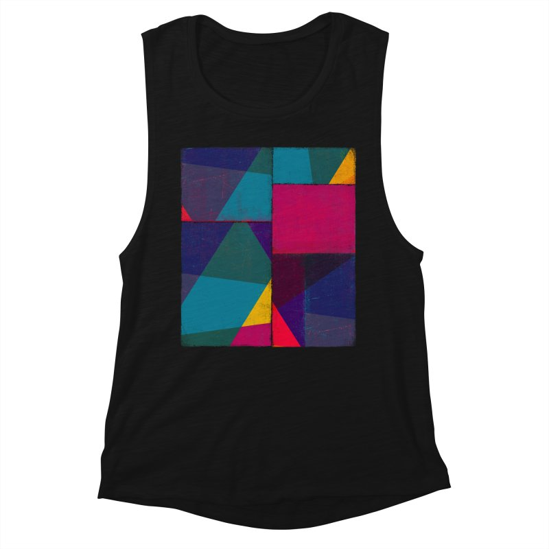 Intersections Women's Muscle Tank by bulo