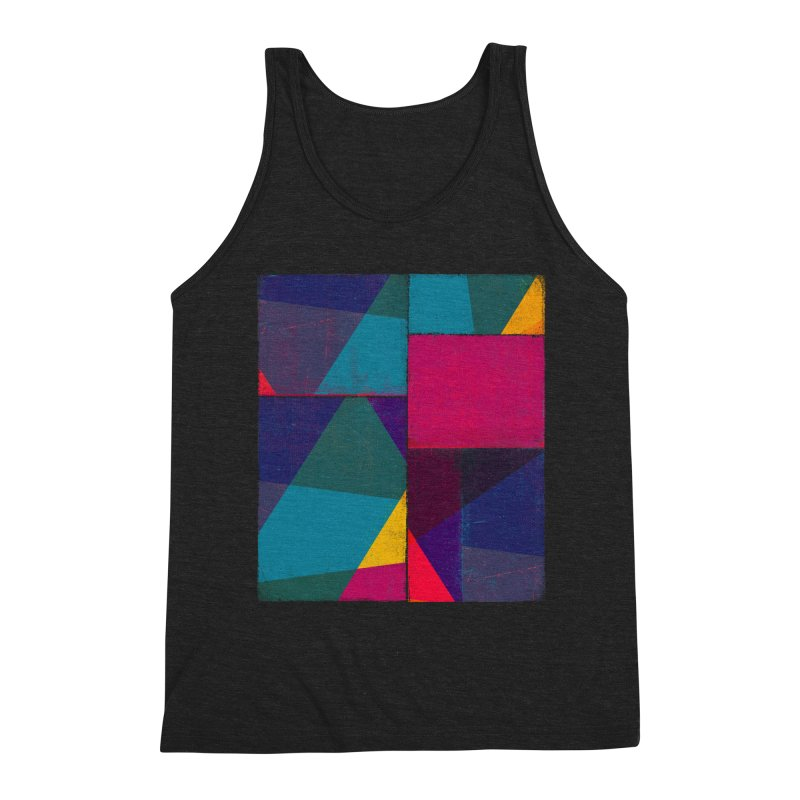 Intersections Men's Triblend Tank by bulo