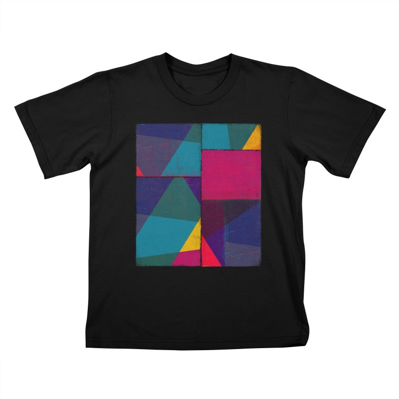 Intersections Kids T-Shirt by bulo