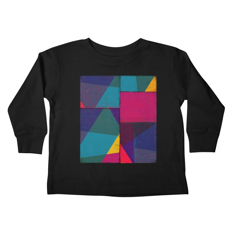 Intersections Kids Toddler Longsleeve T-Shirt by bulo