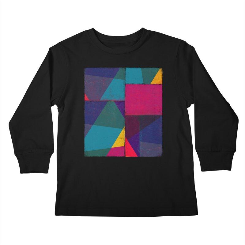 Intersections Kids Longsleeve T-Shirt by bulo